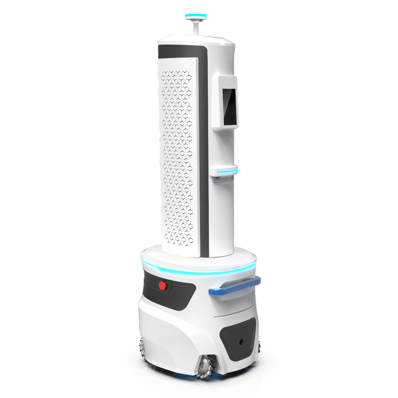 August Robotics Diego UV-C disinfection robot